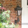 Black Victorian Wall Light