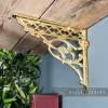 Serpent Design Shelf Bracket in Situ