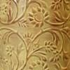 Close-up of the Rustic Cream Finish