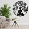 """Buddha Tree"" Wall Art in the Home"