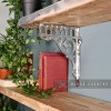 Bright Chrome Shelf bracket - Railway design
