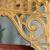 "Classic Railway ""Ribbleshead"" Brass Shelf Brackets 26 x 21cm"