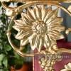 Sunflower Brass Brackets 27 x 21cm
