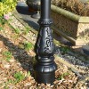 ornate Victorian style base created from cast iron