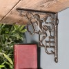 Cherub Shelf Bracket Created from Iron