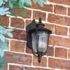 """""""Christleton"""" Wall Mounted Porch Light in an Antique Bronze Finish"""