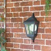 """""""Clifton"""" Porch Wall Light in Use in the Garden"""