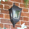 """""""Clifton"""" Porch Wall Light Finished in Black"""