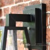 Close Up Of Modern Top Fix Mounting Bracket