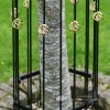 Close Up of Tree Guard Decorative Finials