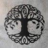 Tree of Life Wall Art on a Rustic Grey Wall