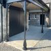 Coalbrookdale Veranda Support Installed In Period Setting