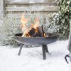 60cm Contemporary Firepit Created from Steel