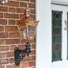 Copper Harrogate Wall Lantern Scrolled Bracket
