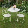 Round Table Set Finished in Cream