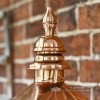 Decorative Lantern Finial In Copper Finish