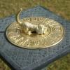 Dog & Bone Sundial in Situ