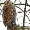 spider-man sculpture iron sculpting