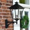 Exterior manor house wall light for gardens