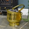 """Blenheim"" Coal Bucket in Situ Next to the Fireplace"