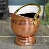 """Windsor"" Coal Bucket Created From Copper"