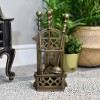Traditional Companion Set Finished In Antique Bronze