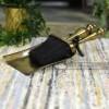 Antique Brass Traditional Brush & Pan Set