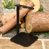 Simplistic stand for fireplace tools