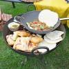 Iron Kadai Fire Bowl Cooking Food