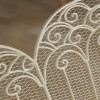 French Victoriana Fire Screen close up of detail