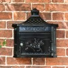 Front view of wall mounted huntingdon post box