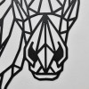 Close up of Geometric Horse Head