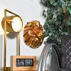 Geometric Lion Head Wall Art in Situ
