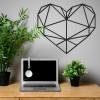 Geometric Love Heart in situ