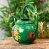Green Watering can with a Large Carry Handle