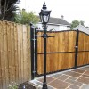 2.2m Harrogate lamp post set driveway lighting