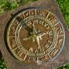 Horoscope Design Sundial on a Column