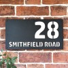 """Smithfield"" House Sign Finished in a White"