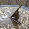 Old Father Time Sundial with bird gnomon