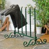 Hand Crafted Welly rack with ceramic ball finials