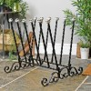 Blacksmith welly boot rack