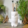 Owl umbrella stand in entrance hall