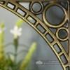 Iron Bridge Small Antique Brass Finish - Small 22 x 22cm Close Up