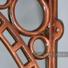 Close-up of the Antique Copper Finish