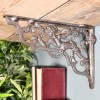 Ornate Cherub Shelf Bracket Created From Iron
