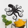 Octopus Wall Art in the Living Room