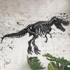 Black Large T-Rex Wall Art