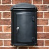 Black York Letter box simplistic design