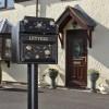 Customer Photograph ' Balmoral Rosette' Post Box in Situ