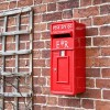 'Original Reproduction' Red Elizabeth Regina Post Box